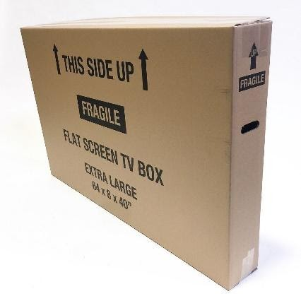 TV Box Extra Large (up to 75 in) with Foam Inserts Image