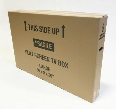 TV Box Large (up to 62 in) with Foam Inserts Image